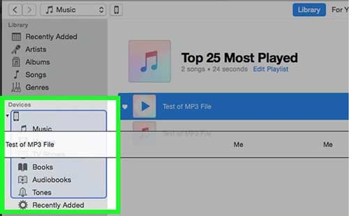 how to add music to ipad - drag and drop music from itunes to ipad