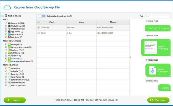 recover whatsapp messages from icloud backup