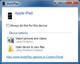 connect ipad to computer