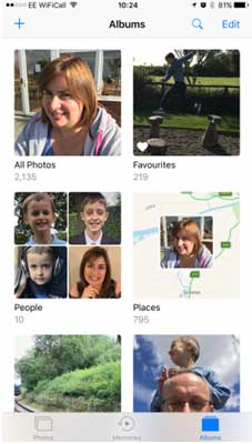 how to access photos on icloud photo library