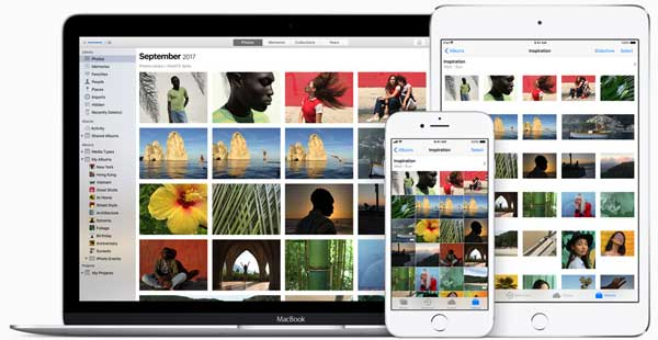 how to use icloud photo library