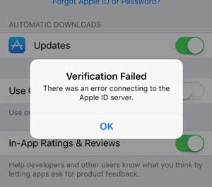 how to fix verification failed on icloud