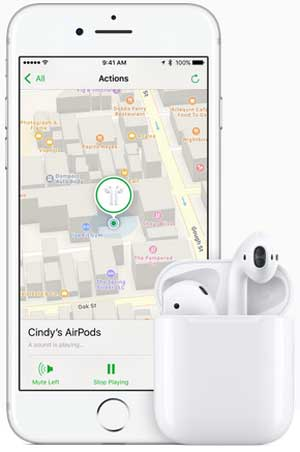 play sound with find my iphone to get back lost iphone