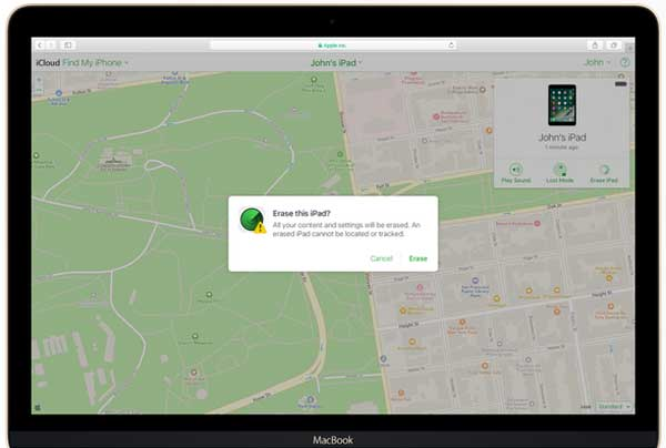 erase iphone remotely with find my iphone