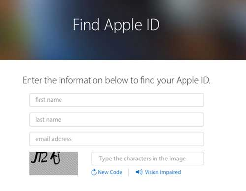how to reset apple id before resetting iphone