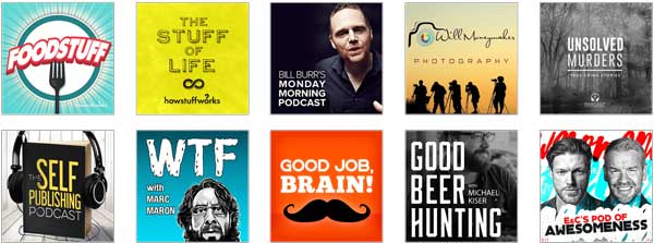 design podcast cover image to publish