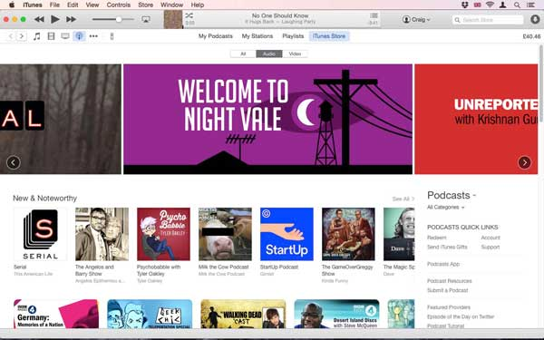 publish podcasts on itunes