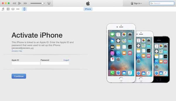 how to fix iphone activation error via itunes