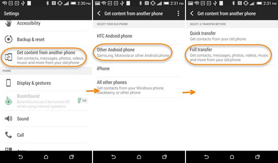 Htc Transfer Tool Best Alternative