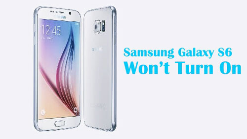 solve samsung s6 wont turn on