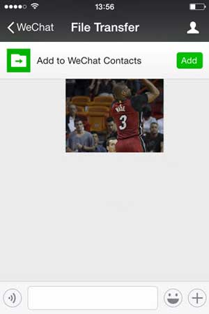 transfer wechat messages from iphone to computer via wechat file transfer