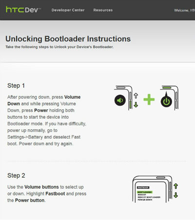 How to Unlock HTC One Bootloader
