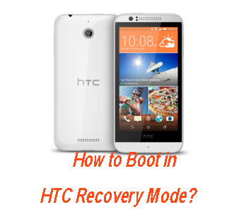 boot in htc recovery mode