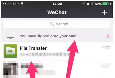 Backup WeChat Photos/Videos via Web WeChat
