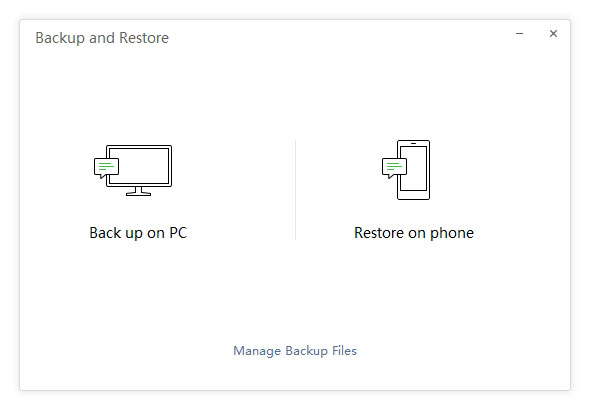 restore from desktop wechat