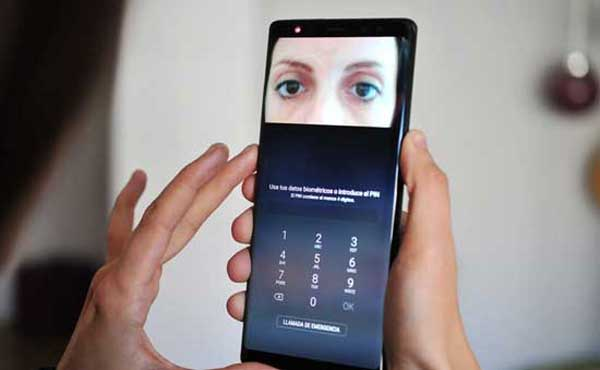 samsung galaxy s9 vs galaxy s8 facial recognition