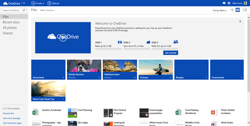 android version of icloud - microsoft onedrive