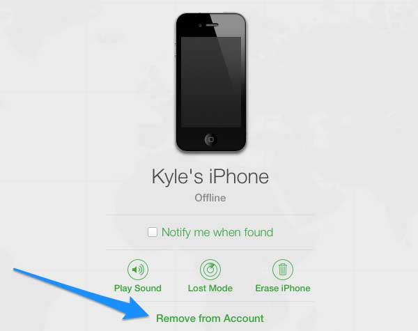 how to add a device on find my iphone remove a device from find my iphone 21337