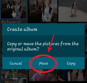 transfer s9 photos to folder