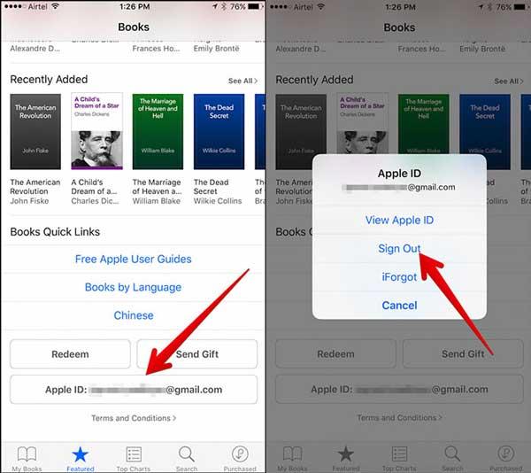 bring back audiobooks on iphone