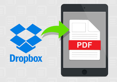 transfer pdf to android with dropbox