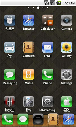 Free Download Top 5 iPhone Themes for Android