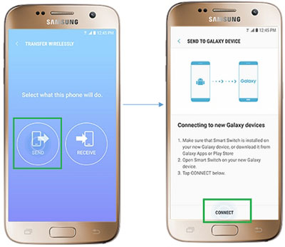 sync apps from samsung to samsung