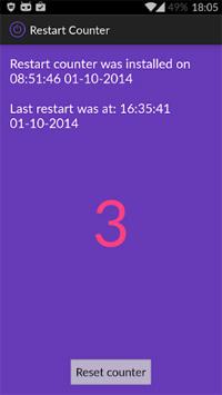 restart counter