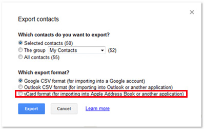 2 Ways to Export Android Contacts to VCF