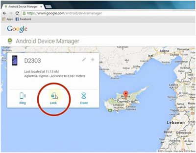 hard reset huawei with android device manager