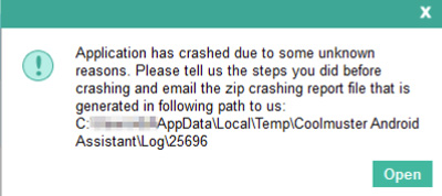 fix program crashes