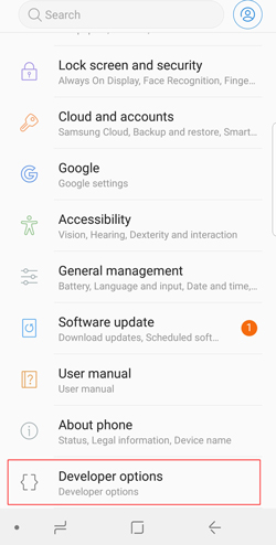 enable usb debugging on android 6.0