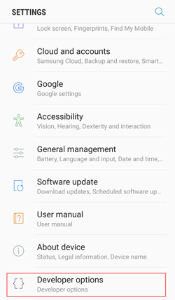 How Can I Enable USB Debugging on Samsung Devices?