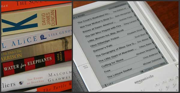 delete kindle books on ipad