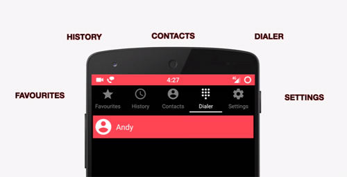Metro Phone Dialer & Contacts