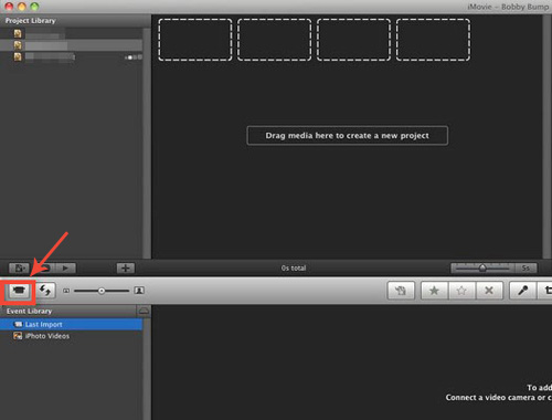 import iphone videos to imovie