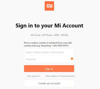 back up xiaomi phone data