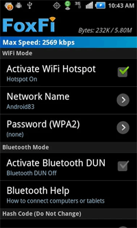 iphone hotspot app free