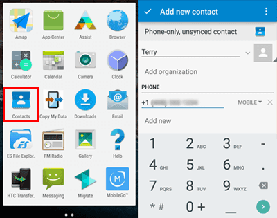 add contacts to whatsapp on android