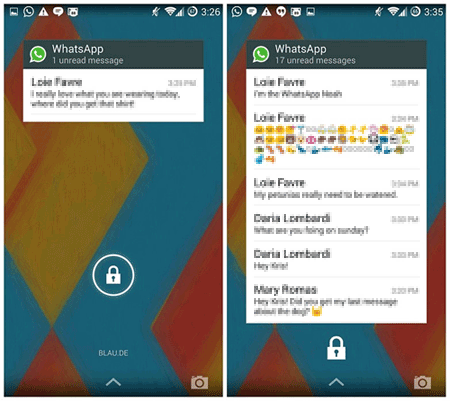 How to Add WhatsApp Widget to Lock Screen