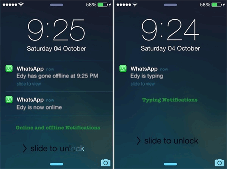 add whatsapp widget on iphone
