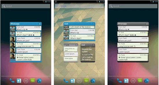 whatsapp widget app