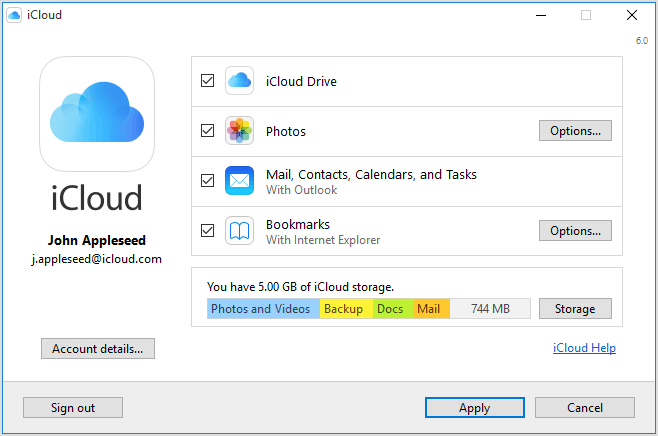 how to transfer data from iphone to laptop via icloud desktop
