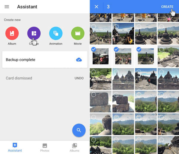 transfer pictures from android to android with google photos