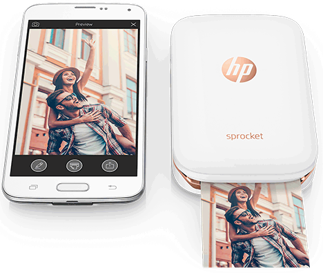 print pictures from iphone using hand-help photo printer