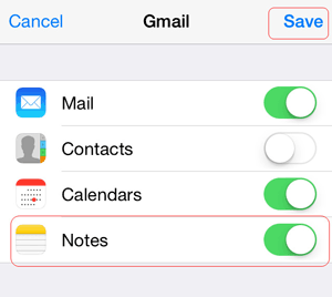 transfer files from android to iphone with gmail