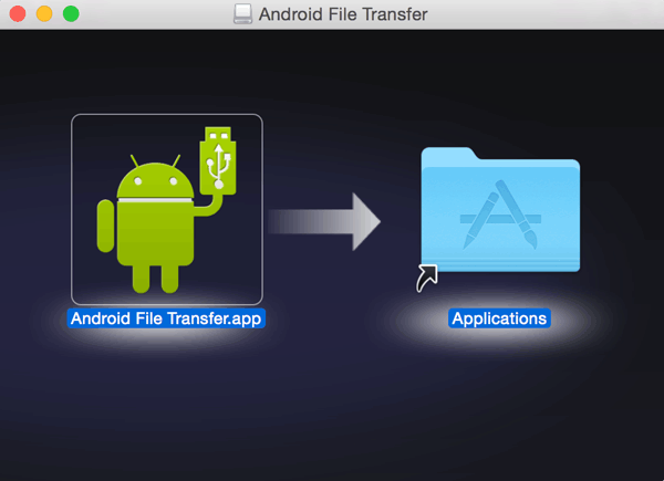 how to transfer messages from android to mac via android file transfer