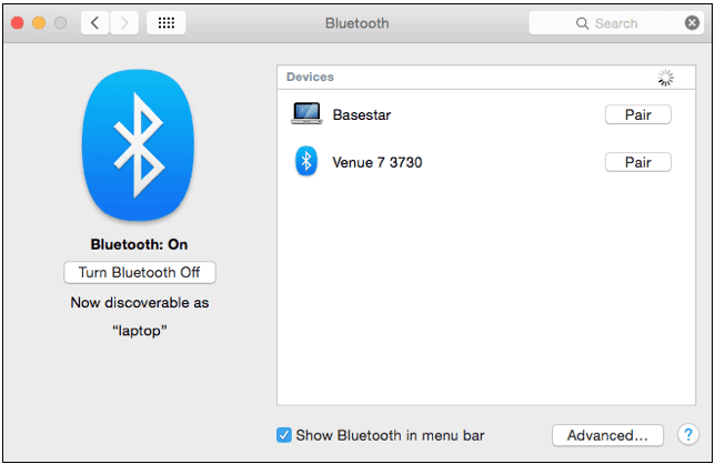 transfer music from mac to android with bluetooth