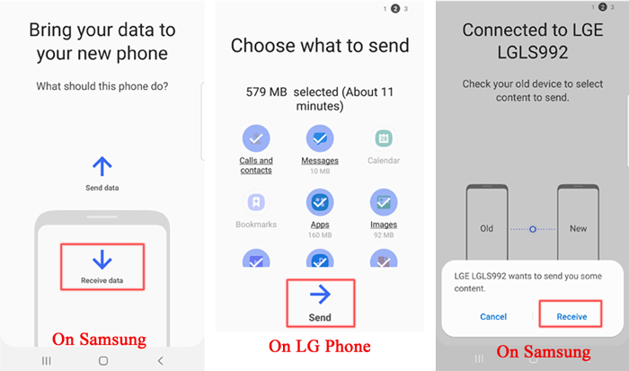 LG to Samsung Transfer: Transfer Data from LG to Samsung