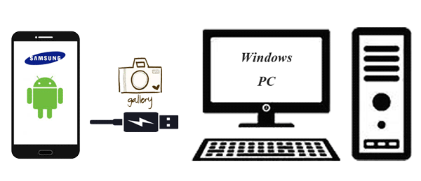 transfer photos from samsung to pc with usb